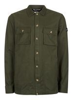 HYMN Khaki Military Overshirt*