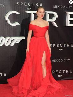 """Léa Seydoux - Première du film """"007 Spectre"""" à Mexico, le 2 novembre 2015."""