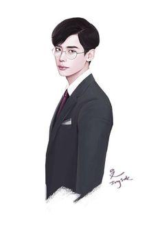 Fanart of Lee Jong Suk - Google Search