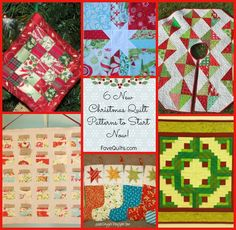 It's a few months away, but it's never too early to start collection ideas for Christmas quilt patterns. See some of the upcoming trends and find brand new quilt patterns for the holiday season.