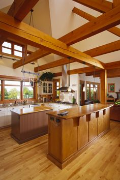 Like any great Farm House the open floor plan allows the Kitchen to be a central part of the home!