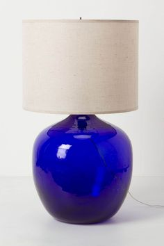 Decanter table lamp - beautiful!