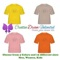 Fractal Spiral Graphic T-Shirt