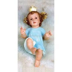 Niño Jesús de Cuna = 20cm, € 78.00