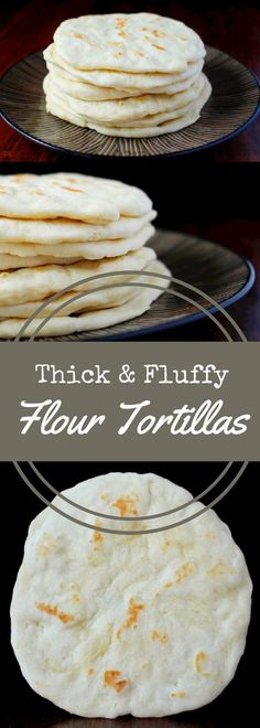 Make thick and fluffy flour tortillas with this easy to follow recipe. Requires no special equipment! Enjoy restaurant style tortillas in your own home! via @recipeforperfec