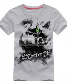 League of legends Master Yi Ink Style t shirts