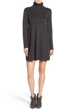 Hinge Turtleneck Sweater Dress available at #Nordstrom