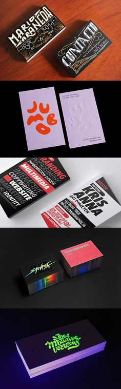 So in this post we`ve collected 40 Typographic Business Cards That Will Catch Your Eye for inspiration to creating a well-designed business card that`s professional, distinctive, and makes a lasting impression. Business Card Logo, Package Design, Visual Identity, Graphic Design Inspiration, Typography, Branding, Letters, Templates, Logos