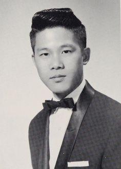 """Mister Telescope"" Charles Wong in the 1964 Galileo Telescope yearbook of Galileo High School in San Francisco, California.  #GalileoHighSchool #GalileoTelescope #yearbook #1964"