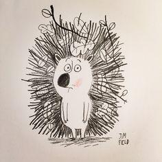 jimfield:  Horris the hedgehog had a very bad hair day