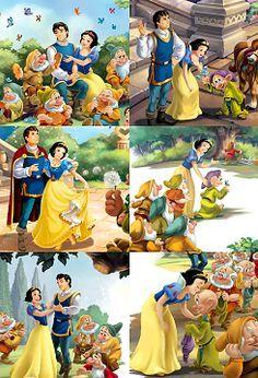 the Disney princess,Snow White Disney And More, Disney Love, Disney Magic, Disney And Dreamworks, Disney Pixar, Walt Disney, Disney Couples, Disney Girls, Disney Princesses And Princes