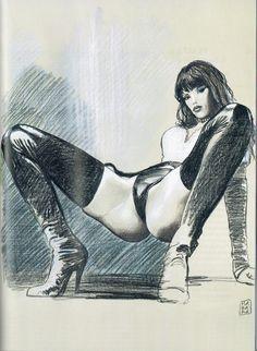 Milo Manara - Vol. 20, Il Pittore e la Modella-131 (La pornomodella)