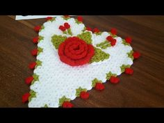 Kalp Lif Yapımı - YouTube Easy Knitting Patterns, Crochet Patterns, Flower Crafts, Baby Knitting, Elsa, Butterfly, Youtube, Holiday Decor, Flowers