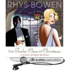 Book Review: The Twelve Clues of Christmas by Rhys Bowen (Her Royal Spyness #6) - a nice Christmas themed mystery