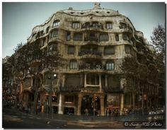 Passeig de Gràcia, Barcelona, Catalonia, Spain