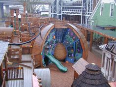 Behold AC Gilbert Discovery Village, an ultimate play world for kids. Salem, Oregon.