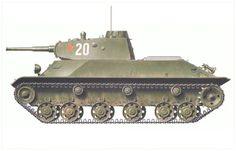 Carro de combate ligero T-50, 488º Batallón de tanques, Grupo de combate del…