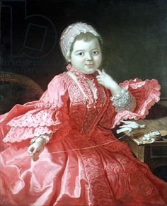 Portrait of a child, century, Rene Tiercelin This is a prime example of a child being dressed in replica adult clothing painted as though an adult. Bless The Child, 18th Century Costume, Children And Family, Renaissance, Art Plastique, Marie Antoinette, Historical Clothing, European Fashion, Swagg