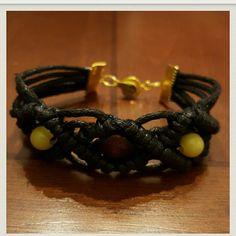 Handcrafted macrame bracelet Beautiful Handcrafted Bracelet with bead embellishments Jewelry Bracelets