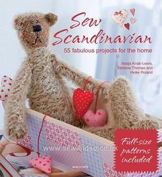 Image detail for -Sew Scandinavian: 55 Fabulous Projects for the Home - Sew and So  www.sewandso.co.uk