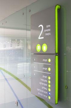 illuminated wayfinding directory   signage   #office #signage #moderndesign http://www.ironageoffice.com/