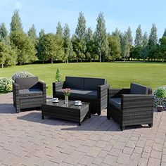 Buy Now £359.99 This Abreo Brand Rattan Is Low Maintenance Garden Furniture  Made From Poly