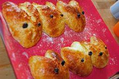 Quarkölteig Häschen :)  Frohe Ostern