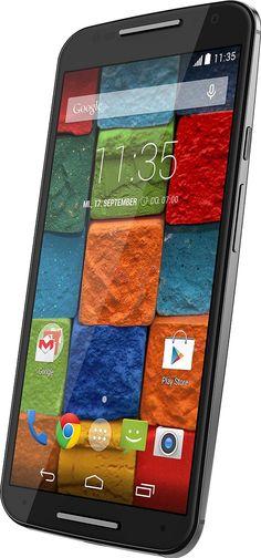 "Motorola Moto X - Smartphone libre Android (pantalla 5.2"", cámara 13 Mp, 32 GB, 2 GB RAM), negro (importado)"