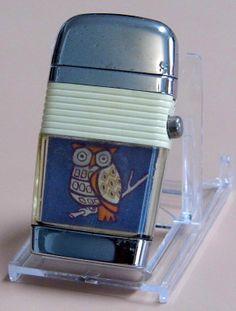 Vintage Cigarette Lighter, Scripto Vu-Lighter, Made In USA.
