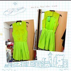 Got my Neon Green dress! ❤