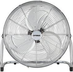 Optimus Industrial Grade High Velocity Fan Chrome Grill, The Optimus Industrial Grade High Velocity Fan is perfect for providing ceiling to floor air ventilation. Features a 360 degree circle head and all metal construction with aluminum heavy duty blade.