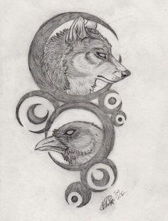 So cool and beautiful Wolf Face Tattoo, Wolf Tattoos Men, Tribal Wolf Tattoo, Small Wolf Tattoo, Native Tattoos, Animal Tattoos, Tatoo Art, Body Art Tattoos, Spray Paint Artwork