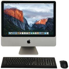 "Apple 20"" Refurbished Imac Desktop Computer #APPLE"