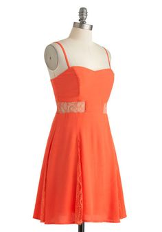 Persimmon Smiles Dress | Mod Retro Vintage Dresses | ModCloth.com