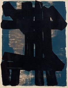 Pierre Soulages Lithograph in colours, 1957 Serendipity, Art Google, Abstract Expressionism, Contemporary Art, Batman, Colours, Artist, Painting, Google Search