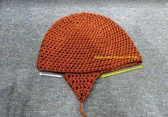 Crochet Monkey Hat, Knitting Patterns, Crochet Patterns, Crochet Bunny Pattern, Animal Hats, Crochet Round, Chain Stitch, Yarn Needle, Scrap
