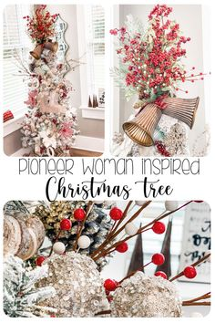 Today, I went live decorating my master bedroom tree… in the beginning stages, I was worried that it wouldn't come together- but thankfully, it turned out better than I could have even imagined!!! #ChristmasTrees #ThePioneerWoman #ChristmasTreeInspiration Christmas Tree Tops, Homemade Christmas Decorations, Christmas Tree Themes, Holiday Tree, All Things Christmas, Christmas Diy, Christmas Ornaments, Christmas Tree Inspiration, Christmas Aesthetic