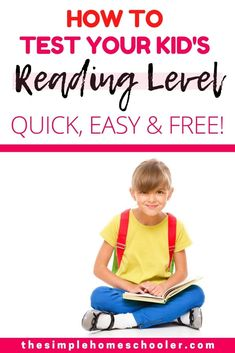 How to Test Reading Level Online: The Ultimate Guide