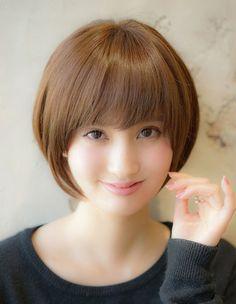 マイナス6歳!小顔になるショートボブ SE(177)   ヘアカタログ・髪型・ヘアスタイル AFLOAT(アフロート)表参道・銀座・名古屋の美容室・美容院