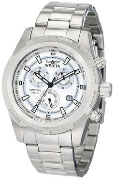 Invicta Men's 1558 II Collection Swiss Chronograph Watch ** Click image to review more details.