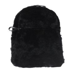 Black Missguided Faux Fur Backpack | schuh (21 NZD) ❤ liked on Polyvore featuring bags, backpacks, faux fur bag, faux fur backpack, knapsack bag, rucksack bags and day pack backpack