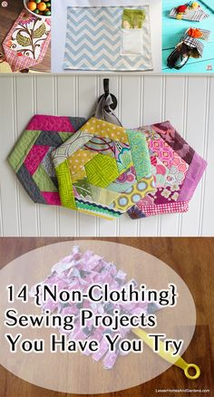 These non clothing sewing projects are cute and unique!