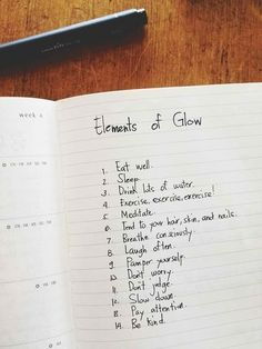 The Elements Of Glow