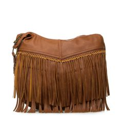 Funky Fringe Purse in Brown or Black