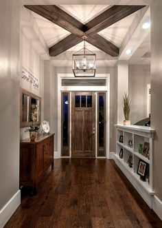 Nice 80 Best Rustic Farmhouse Entryway Decorating Ideas  #decorating #Entryway #RusticFarmhouse