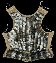 Brigandine, Italian, second quarter of the sixteenth century, steel plates, linen, silk, brass, gold. Florence, Bargello National Museum - Mugello Scarborough.