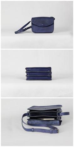Handmade Full Grain Leather Messenger Women Handbag