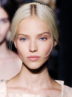 Sasha Luss at Valentino Haute Couture Fall/Winter 2013