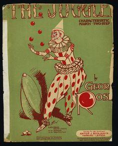 GEORGE ROSEY - THE JUGGLER - JONGLEUR MARSCH TWO STEP - PIANO SOLO