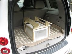 Portable Saddle Rack for Car by Penrosewoodworking on Etsy                                                                                                                                                                                 More